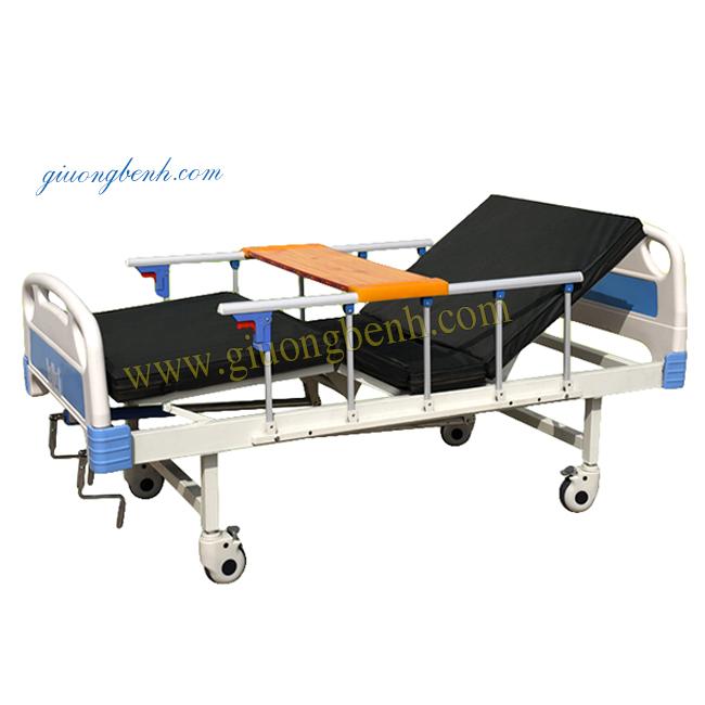 Giường bệnh 2 tay quay DCN-02